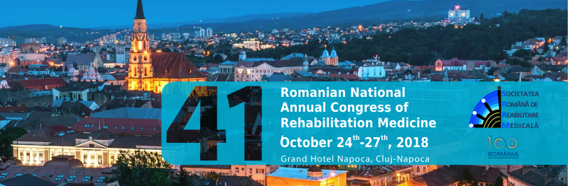 41st Romanian National Annual Congress of Rehabilitation Medicine